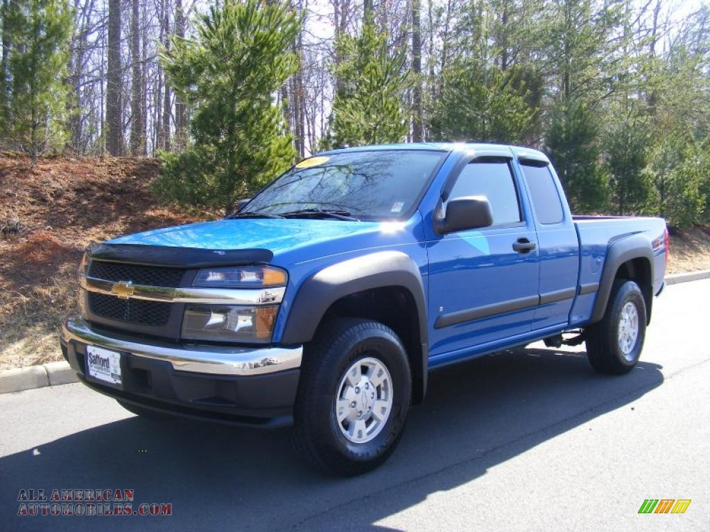 2007 Chevrolet Colorado Lt Z71 Extended Cab 4x4 In Pace