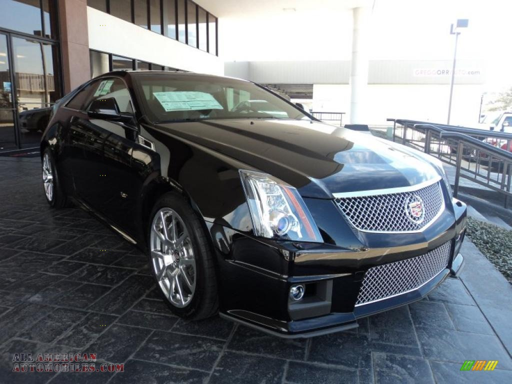 2011 cadillac cts v coupe in black raven photo 2 134211 all american automobiles buy. Black Bedroom Furniture Sets. Home Design Ideas
