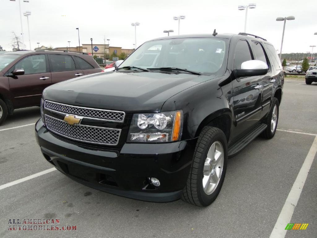 2007 chevrolet tahoe ltz in black 399196 all american automobiles buy american cars for. Black Bedroom Furniture Sets. Home Design Ideas