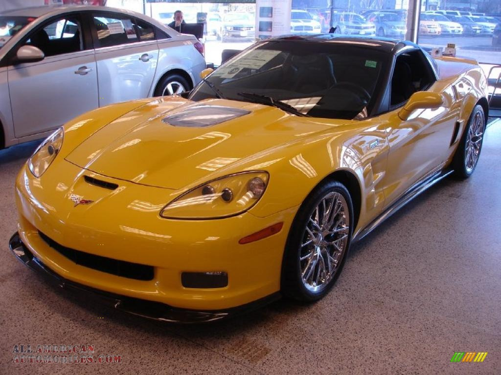 2011 chevrolet corvette zr1 in velocity yellow 800671 all american automobiles buy. Black Bedroom Furniture Sets. Home Design Ideas
