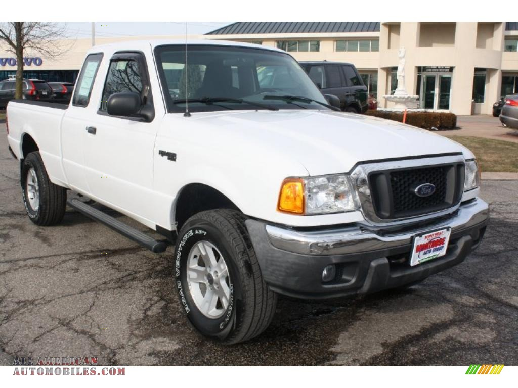 Montrose Auto Group >> 2005 Ford Ranger XLT SuperCab 4x4 in Oxford White - A13184 | All American Automobiles - Buy ...