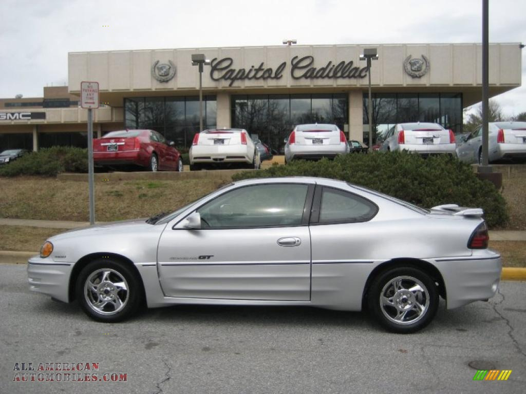2002 Pontiac Grand Am GT Coupe in Galaxy Silver Metallic - 179989 ...