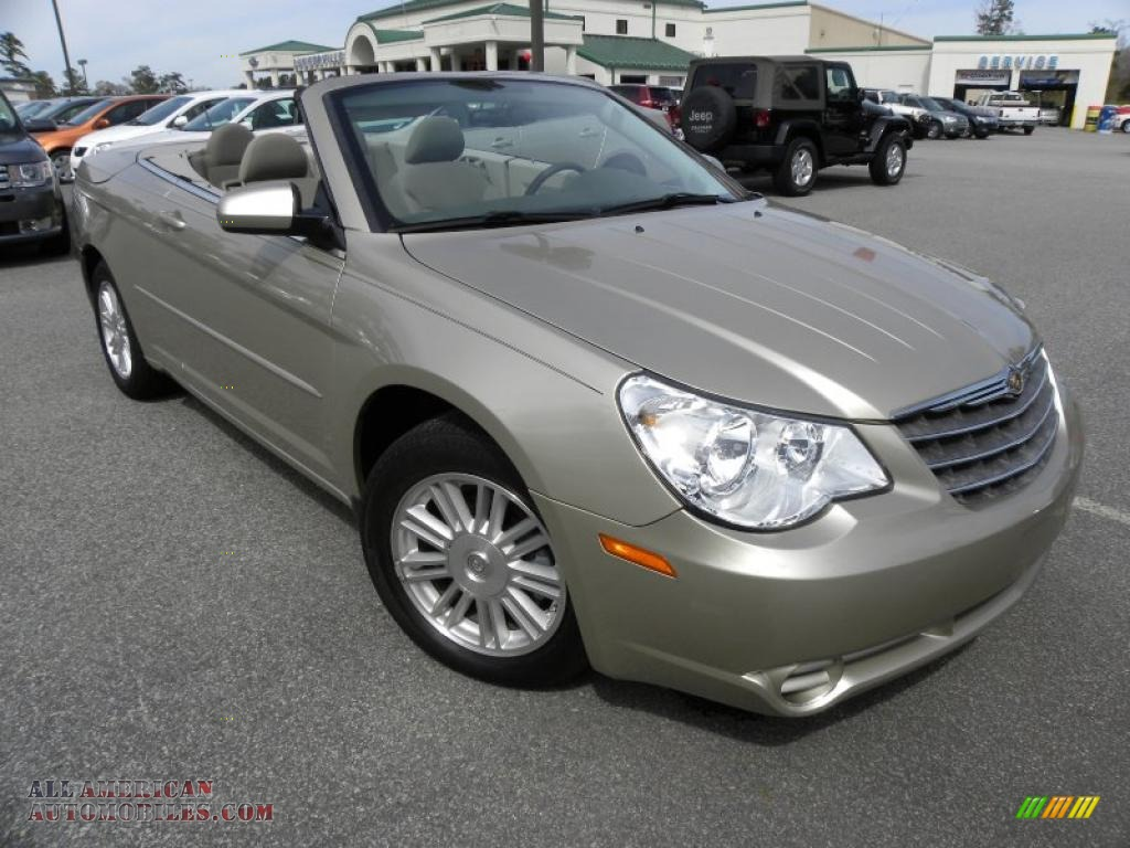 Ron Lewis Cranberry >> 2008 Chrysler Sebring Touring Hardtop Convertible in Light Sandstone Metallic - 643438 | All ...
