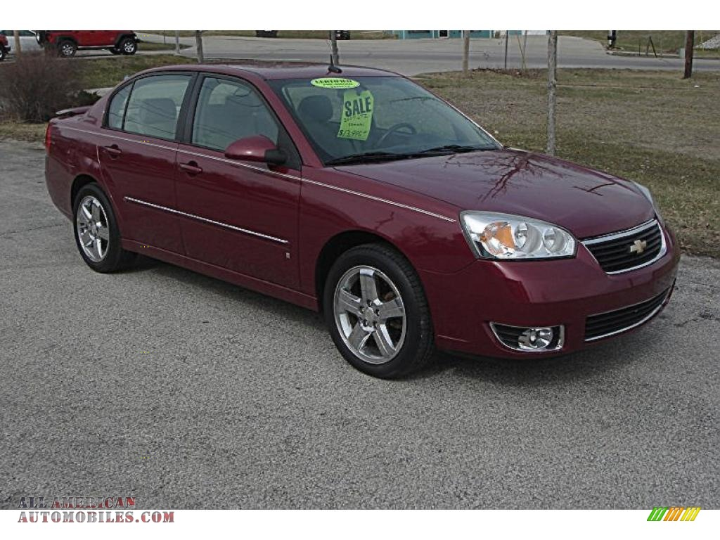 2007 Chevrolet Malibu LTZ Sedan in Sport Red Metallic - 118290 | All ...