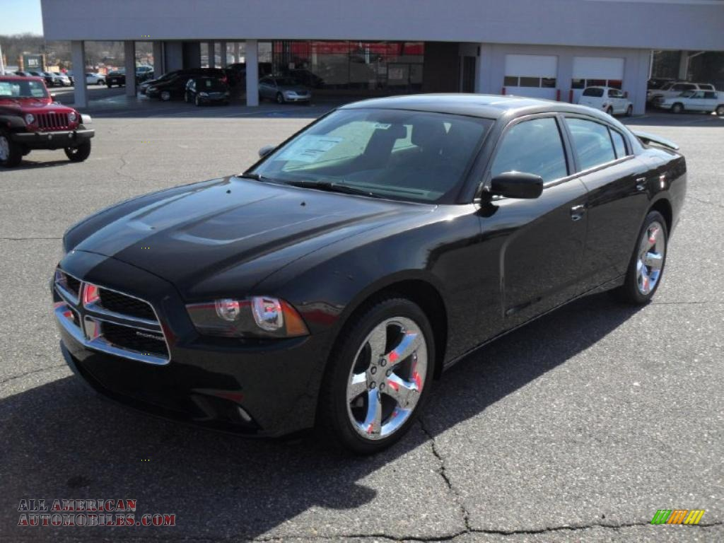 2011 dodge charger rallye in brilliant black crystal pearl 507068 all american automobiles. Black Bedroom Furniture Sets. Home Design Ideas