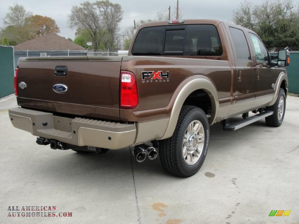 2011 Ford F250 Super Duty King Ranch Crew Cab 4x4 In