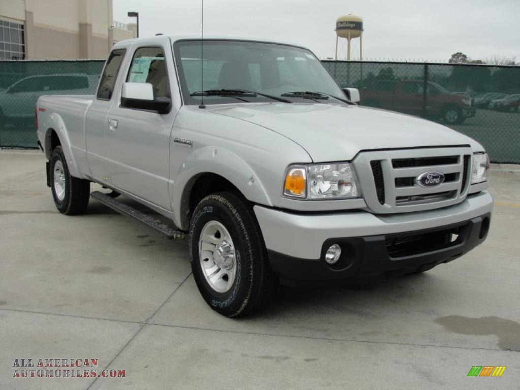 2011 ford ranger sport supercab in silver metallic a35212 all american automobiles buy. Black Bedroom Furniture Sets. Home Design Ideas