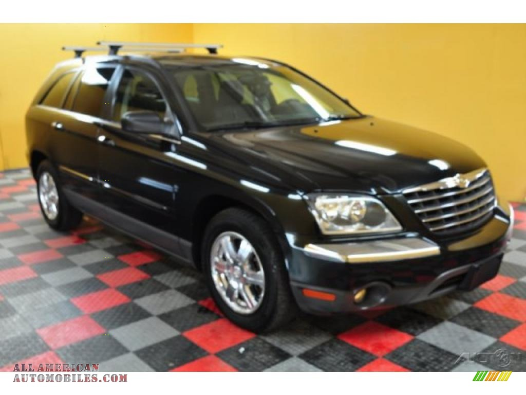 Ron Lewis Dodge >> 2004 Chrysler Pacifica AWD in Brilliant Black Crystal Pearl - 590308 | All American Automobiles ...