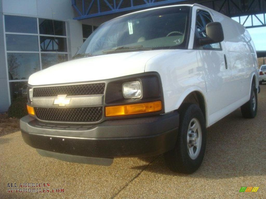 2008 chevrolet express 1500 cargo van in summit white Tysinger motor company