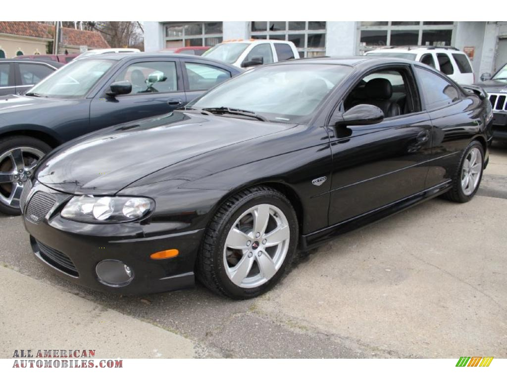 2004 Pontiac Gto Coupe In Phantom Black Metallic 260109
