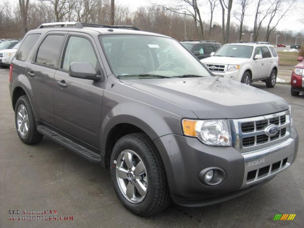 2011 ford escape limited in sterling grey metallic. Black Bedroom Furniture Sets. Home Design Ideas