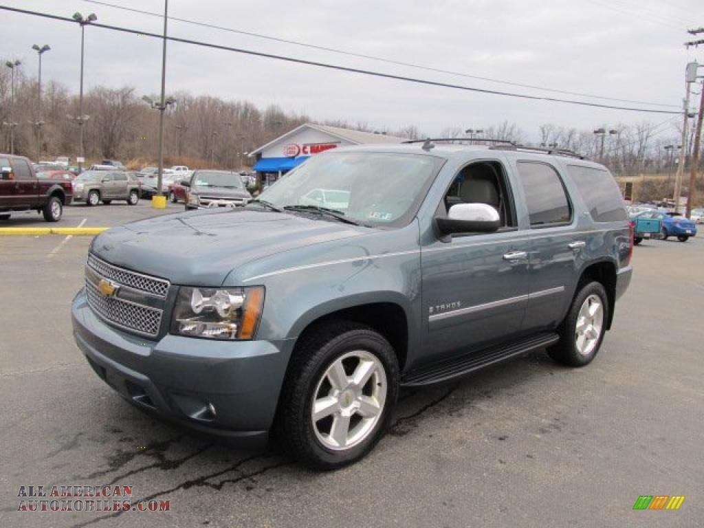 2009 chevrolet tahoe ltz 4x4 in blue granite metallic photo 5 176305 all american. Black Bedroom Furniture Sets. Home Design Ideas