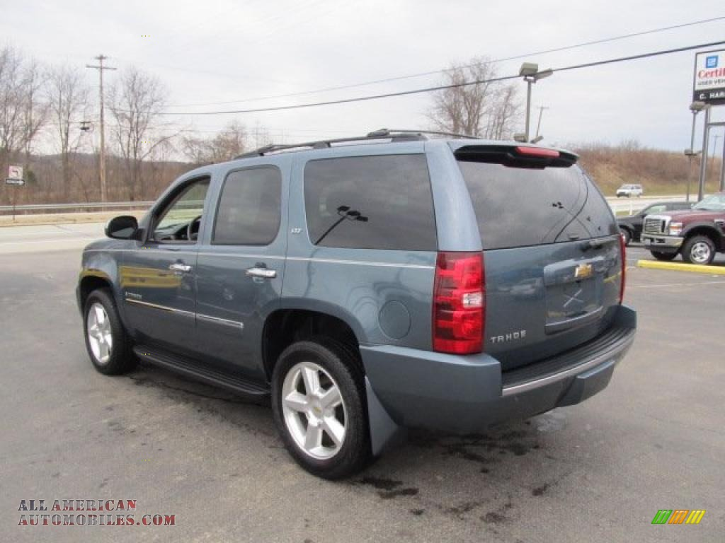 2009 chevrolet tahoe ltz 4x4 in blue granite metallic photo 7 176305 all american. Black Bedroom Furniture Sets. Home Design Ideas