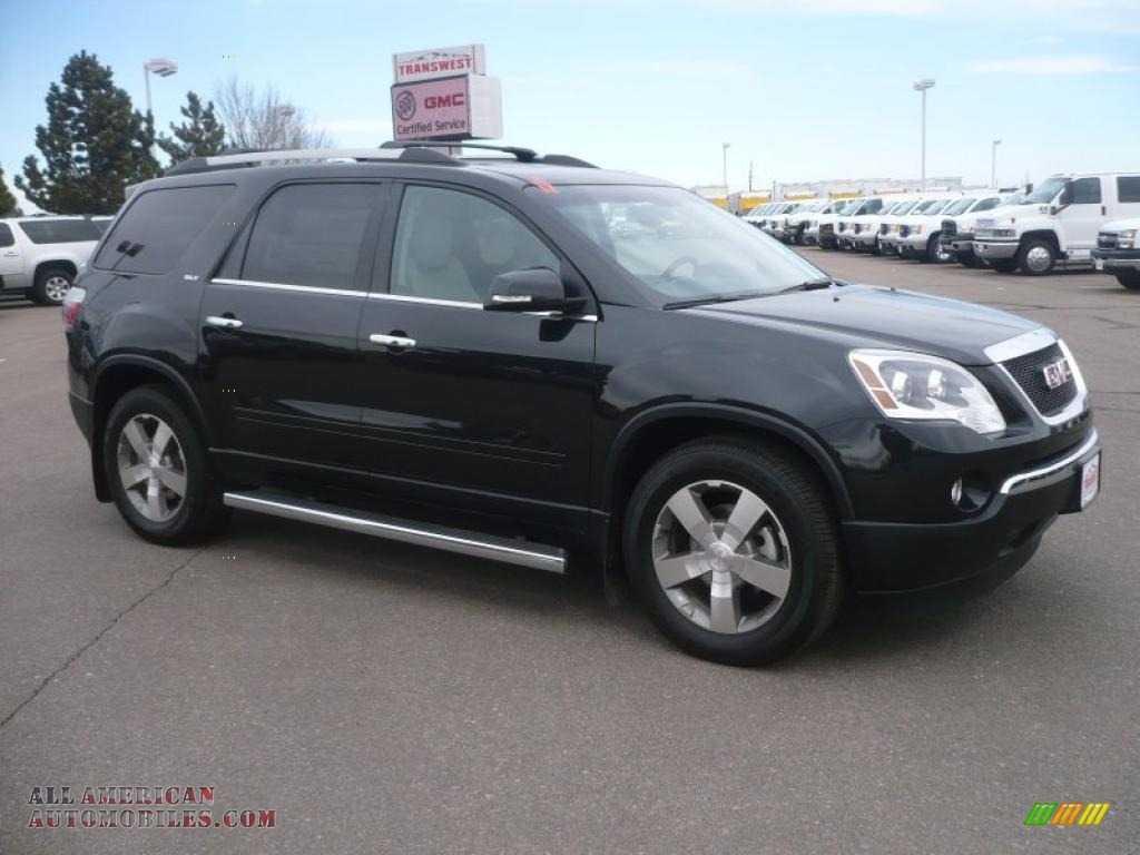 2011 GMC Acadia SLT AWD in Carbon Black Metallic - 298985 | All American Automobiles - Buy ...