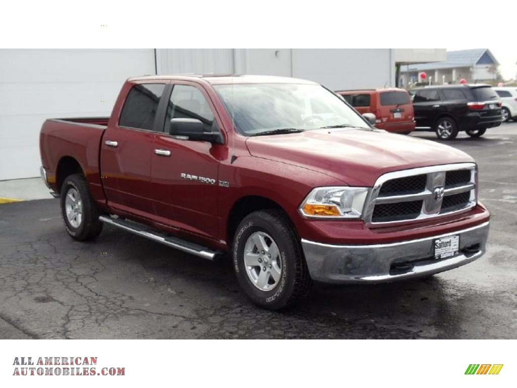 2011 dodge ram 1500 slt crew cab 4x4 in deep cherry red crystal pearl photo 3 556404 all. Black Bedroom Furniture Sets. Home Design Ideas