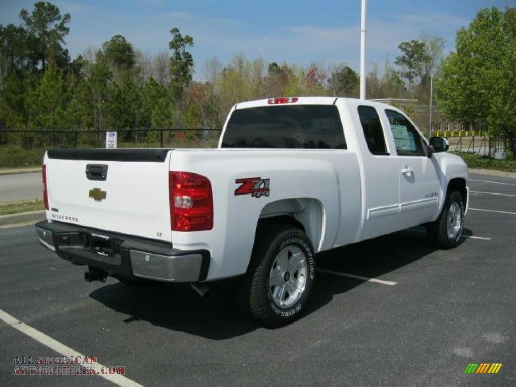 2011 chevrolet silverado 1500 lt extended cab 4x4 in summit white photo 2 276988 all. Black Bedroom Furniture Sets. Home Design Ideas
