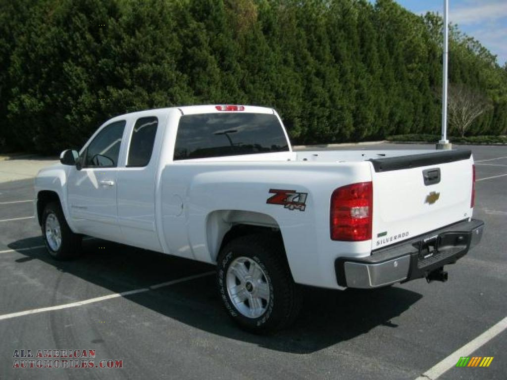 2011 chevrolet silverado 1500 lt extended cab 4x4 in summit white photo 3 276988 all. Black Bedroom Furniture Sets. Home Design Ideas