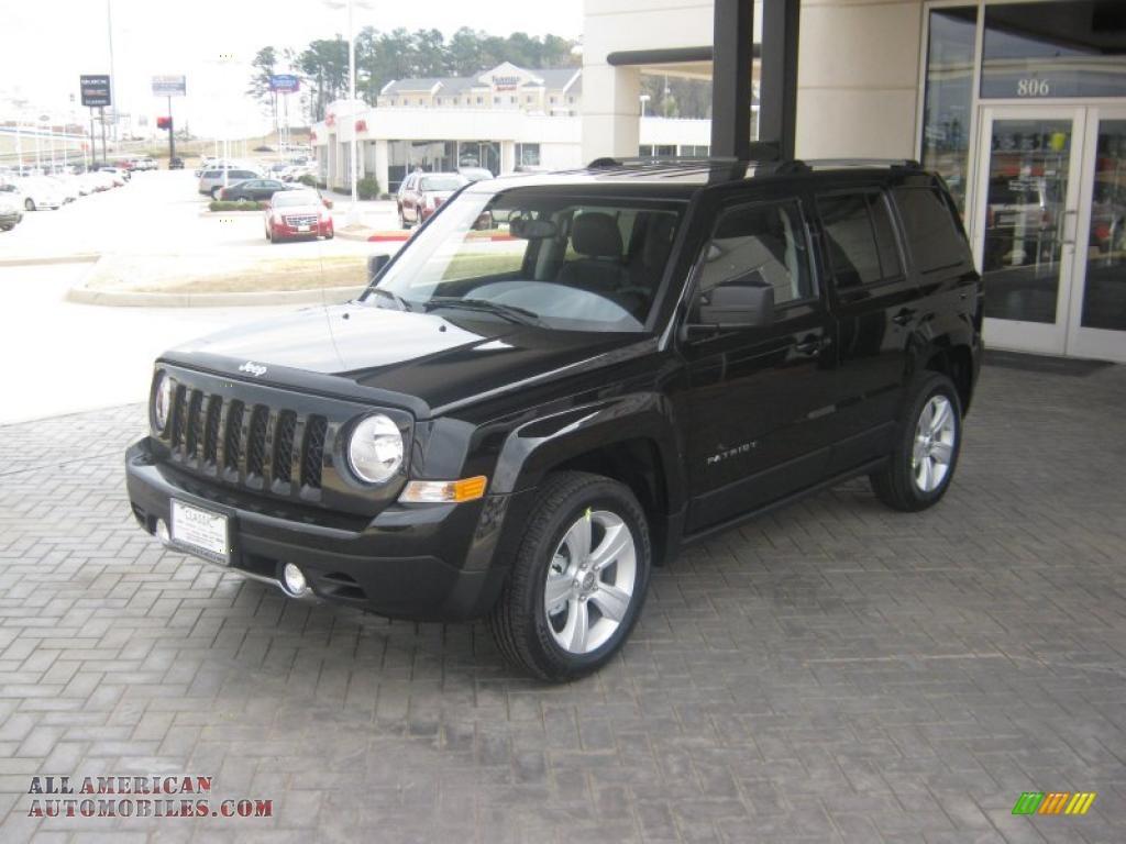 2011 jeep patriot latitude x in brilliant black crystal pearl 178786 all american. Black Bedroom Furniture Sets. Home Design Ideas