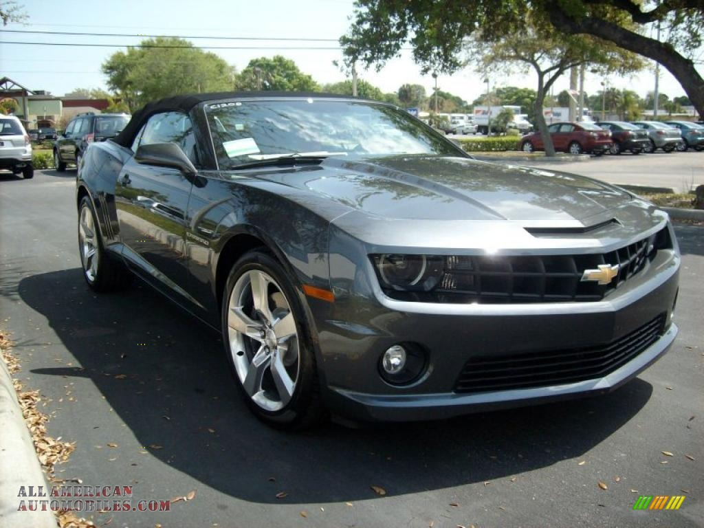 2011 chevrolet camaro ss rs convertible in cyber gray metallic photo. Cars Review. Best American Auto & Cars Review