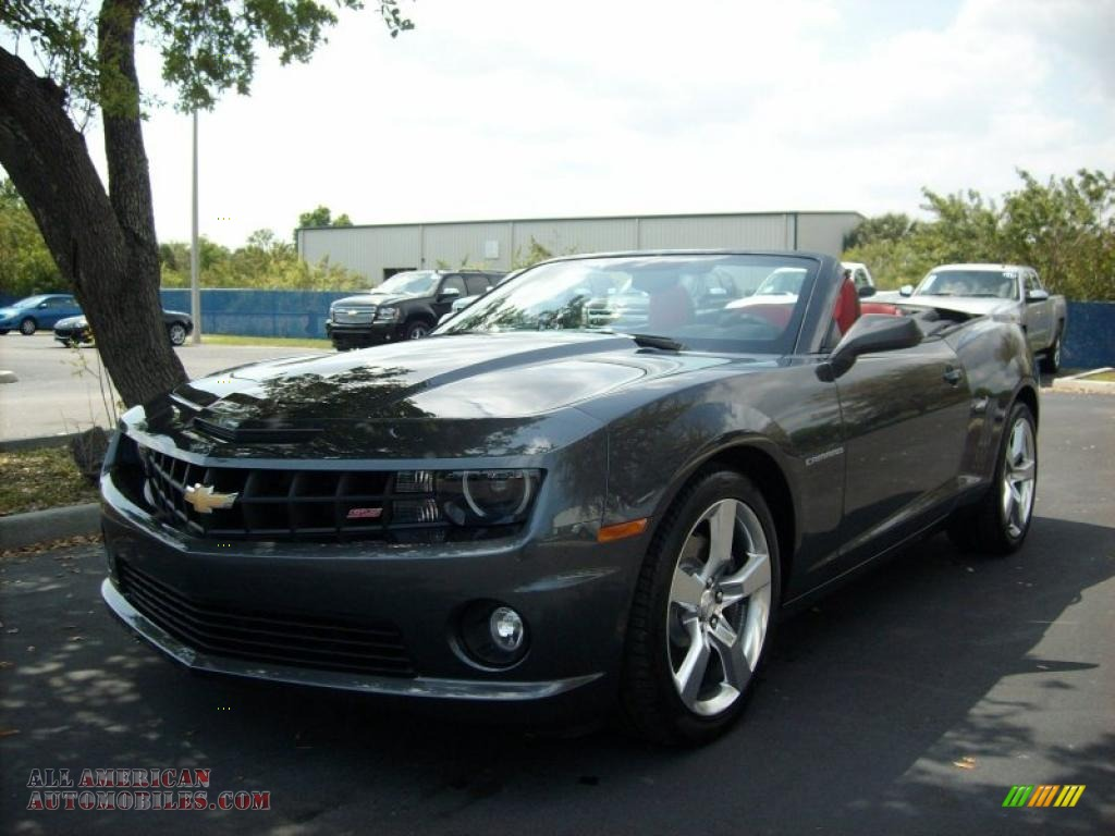 2011 chevrolet camaro ss rs convertible in cyber gray metallic photo 5 166031 all american. Black Bedroom Furniture Sets. Home Design Ideas