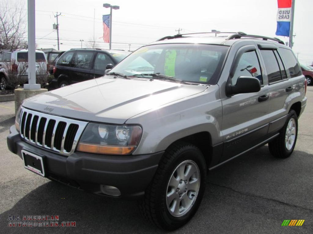 2001 jeep grand cherokee laredo 4x4 in silverstone metallic 656742. Black Bedroom Furniture Sets. Home Design Ideas