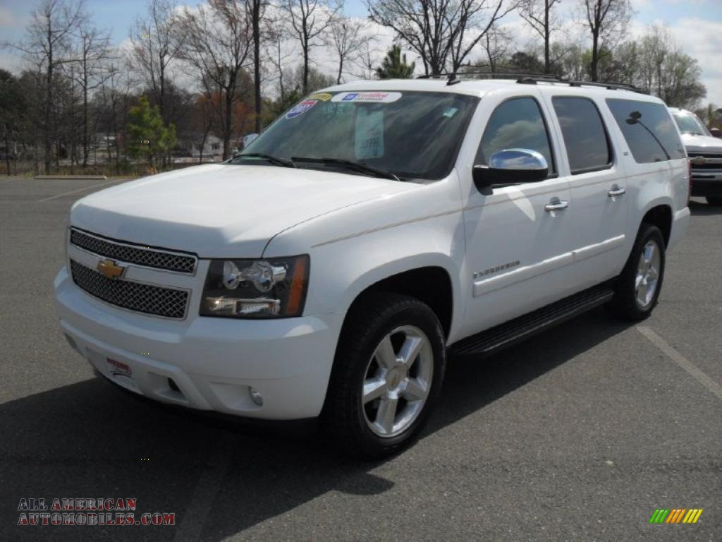 2007 chevrolet suburban 1500 ltz 4x4 in summit white. Black Bedroom Furniture Sets. Home Design Ideas