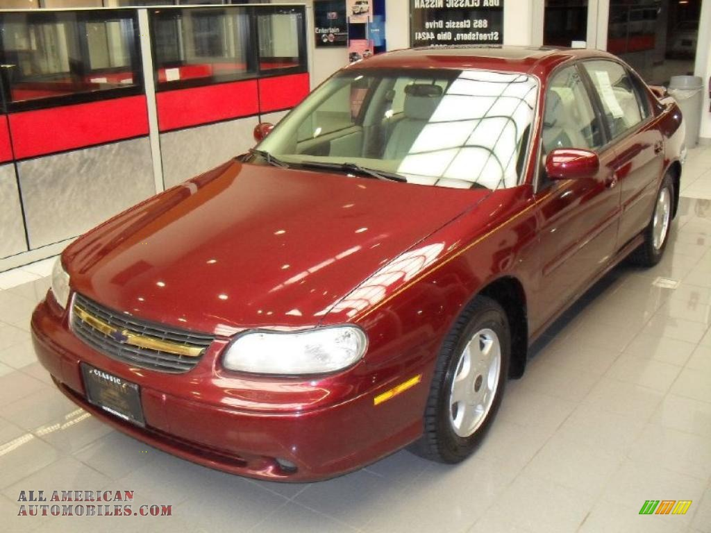 2001 chevrolet malibu ls sedan in monterey maroon metallic. Black Bedroom Furniture Sets. Home Design Ideas