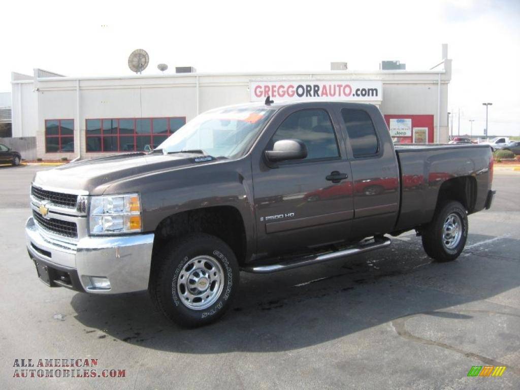 2008 chevrolet silverado 2500hd lt extended cab in desert brown metallic 211426 all american