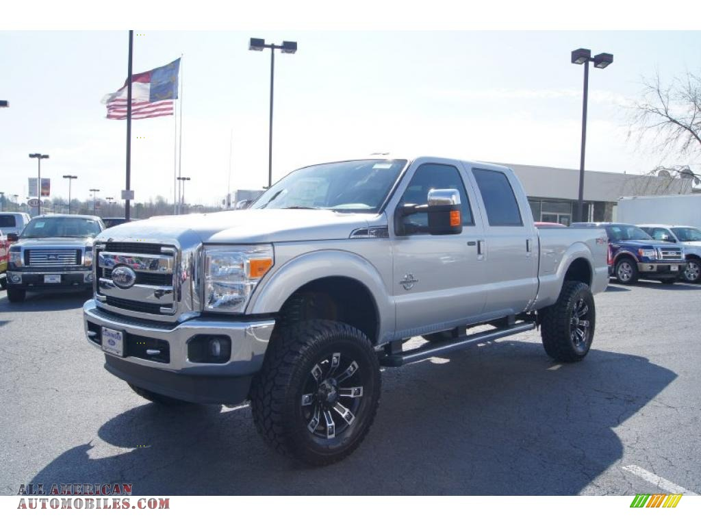 2011 Ford F250 Super Duty Lariat Crew Cab 4x4 In Ingot