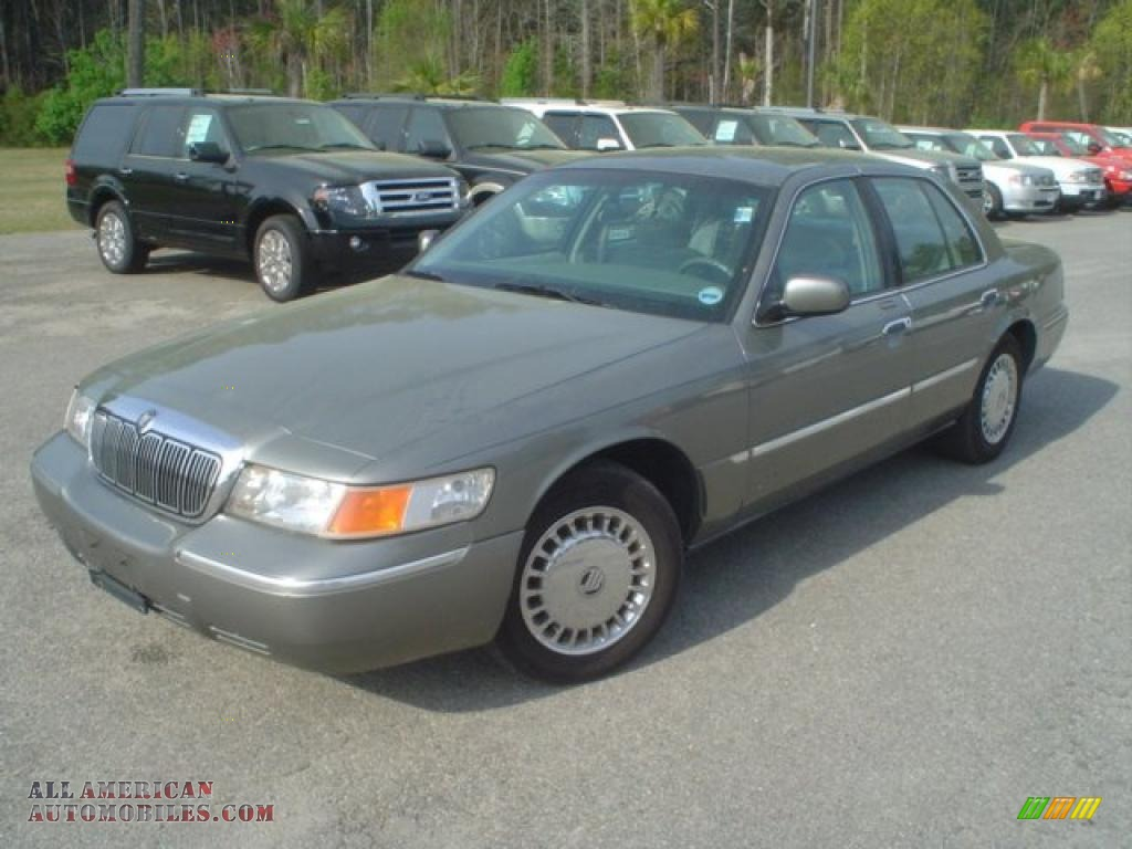 American Auto Sales Little Rock: 2000 Mercury Grand Marquis LS In Spruce Green Metallic