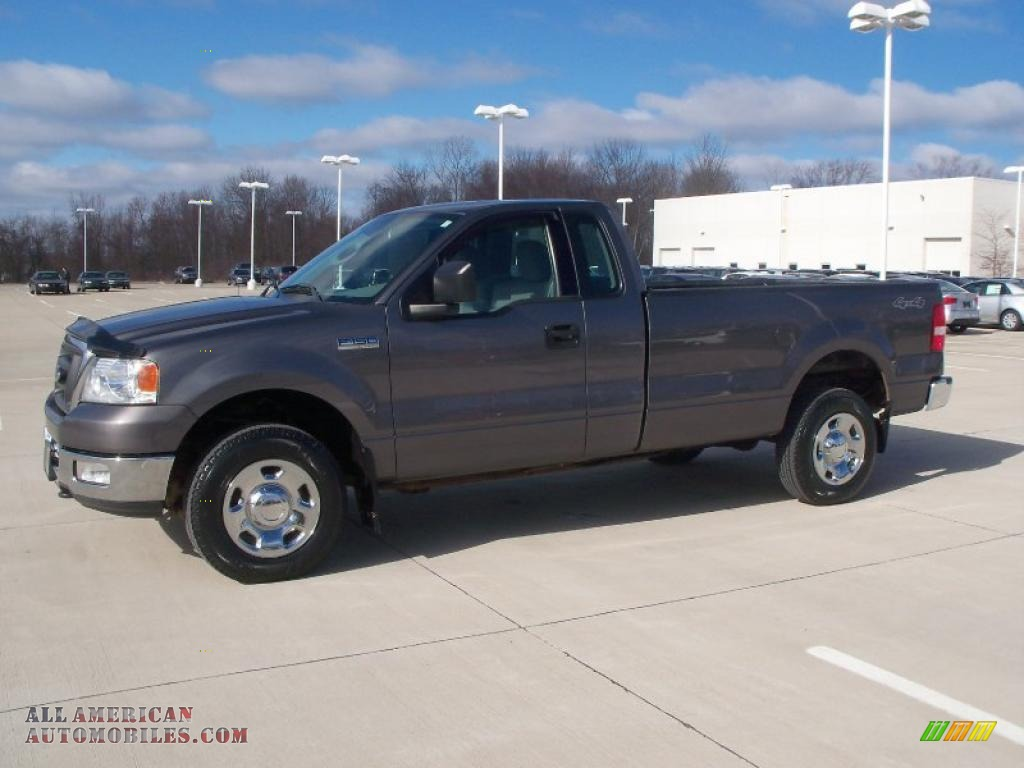 2004 ford f150 xl regular cab 4x4 in dark shadow grey. Black Bedroom Furniture Sets. Home Design Ideas