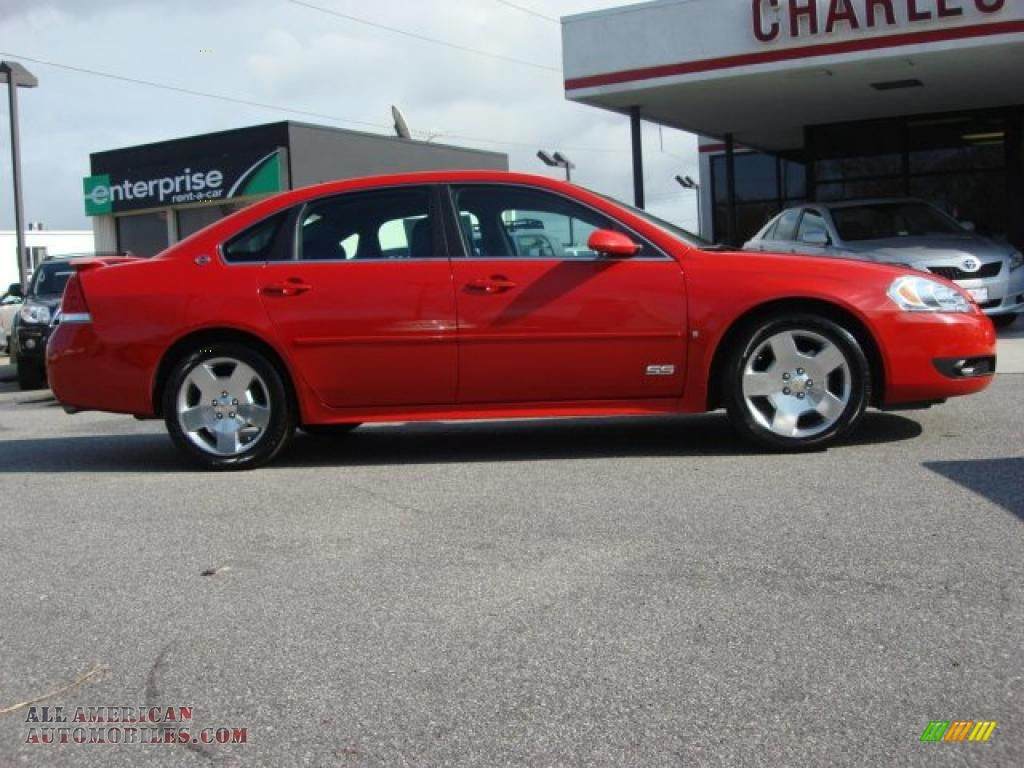 2009 chevrolet impala ss in victory red photo 2 176659. Black Bedroom Furniture Sets. Home Design Ideas