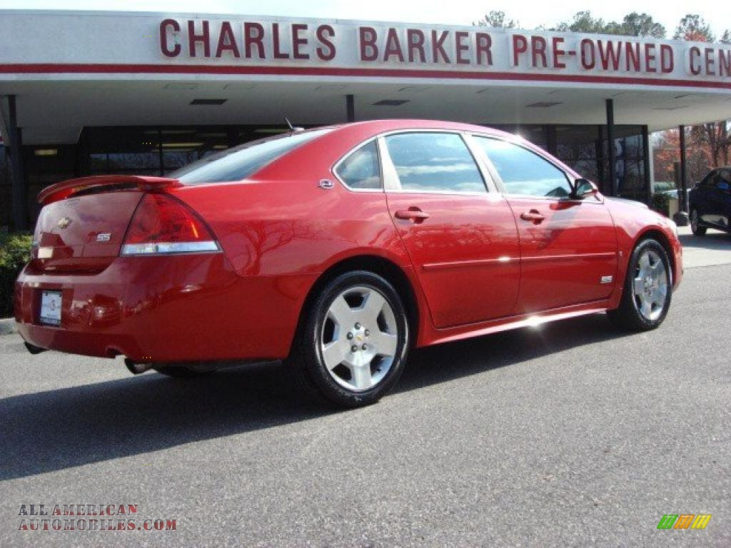 2009 chevrolet impala ss in victory red photo 3 176659. Black Bedroom Furniture Sets. Home Design Ideas