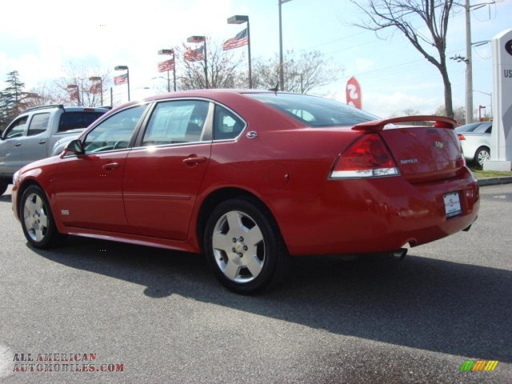 2009 chevrolet impala ss in victory red photo 4 176659. Black Bedroom Furniture Sets. Home Design Ideas