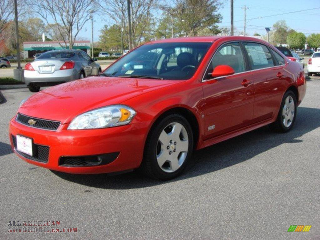 2009 chevrolet impala ss in victory red photo 6 176659. Black Bedroom Furniture Sets. Home Design Ideas