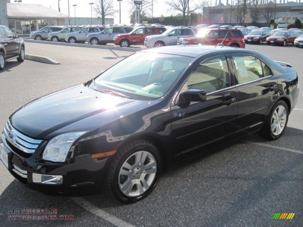 2008 ford fusion sel v6 awd in dark blue ink metallic photo 3 222308 all american. Black Bedroom Furniture Sets. Home Design Ideas
