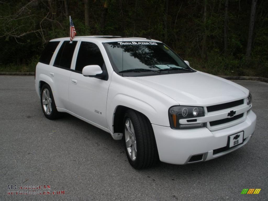 2008 chevrolet trailblazer ss in summit white photo 3 245761 all american automobiles buy. Black Bedroom Furniture Sets. Home Design Ideas