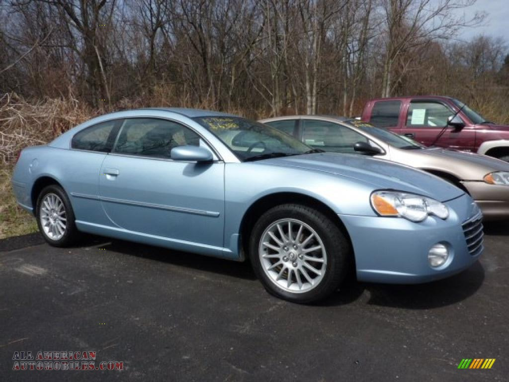 Valley Buick Gmc >> 2004 Chrysler Sebring Limited Coupe in Light Blue Pearl - 149594 | All American Automobiles ...