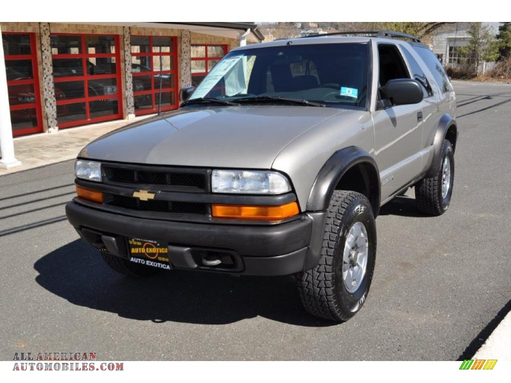 2003 chevrolet blazer ls zr2 4x4 in light pewter metallic photo 8 184196 all american. Black Bedroom Furniture Sets. Home Design Ideas