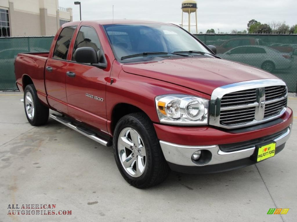 Ron Lewis Chrysler Dodge Jeep Ram Pleasant Hills >> 2007 Dodge Ram 1500 Lone Star Edition Quad Cab in Inferno Red Crystal Pearl photo #3 - 640694 ...