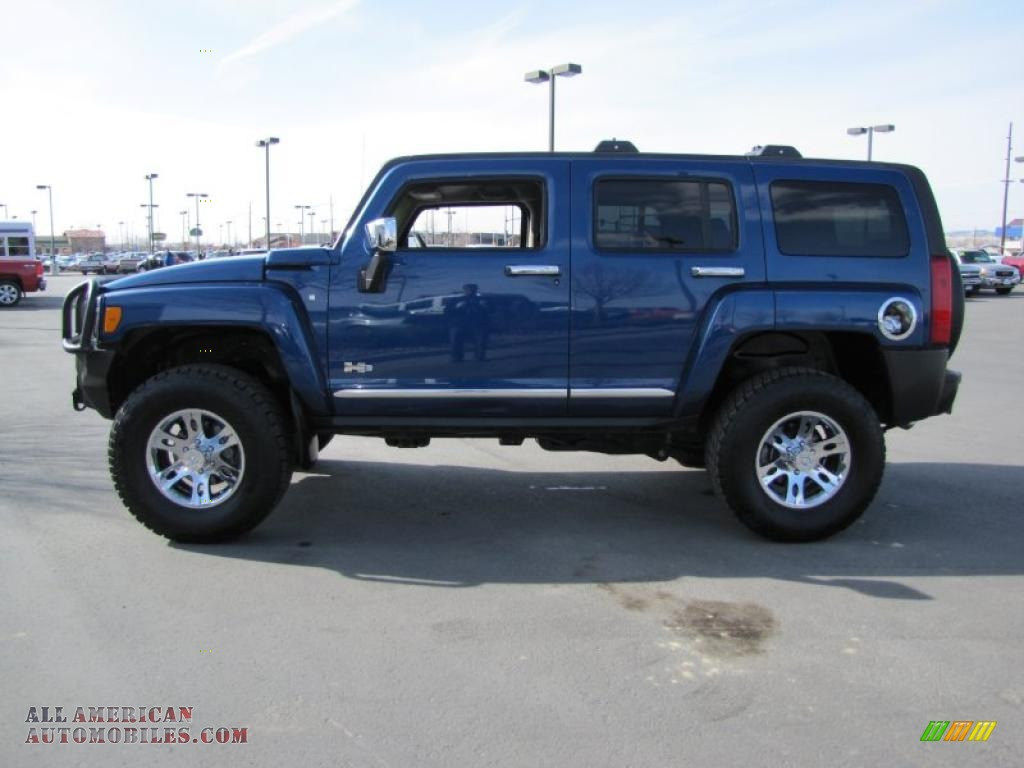 2006 hummer h3 in superior blue 315104 all american automobiles buy american cars for sale
