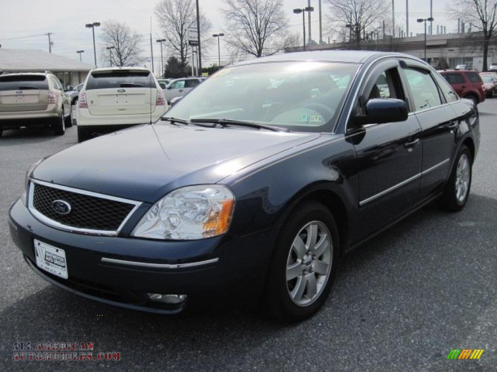2006 ford five hundred sel awd in dark blue pearl metallic. Cars Review. Best American Auto & Cars Review