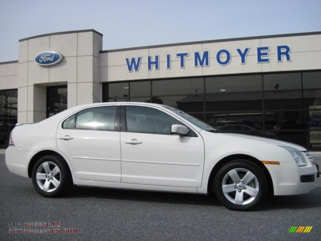 2008 Ford Fusion Se In White Suede Photo 3 202342 All