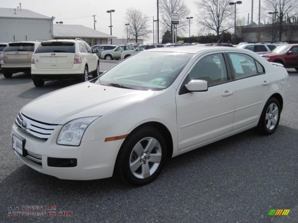 2008 ford fusion se in white suede photo 3 202342 all american automobiles buy american. Black Bedroom Furniture Sets. Home Design Ideas