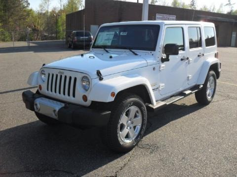 2011 Jeep Wrangler Unlimited Sahara White. 2011 Jeep Wrangler Unlimited