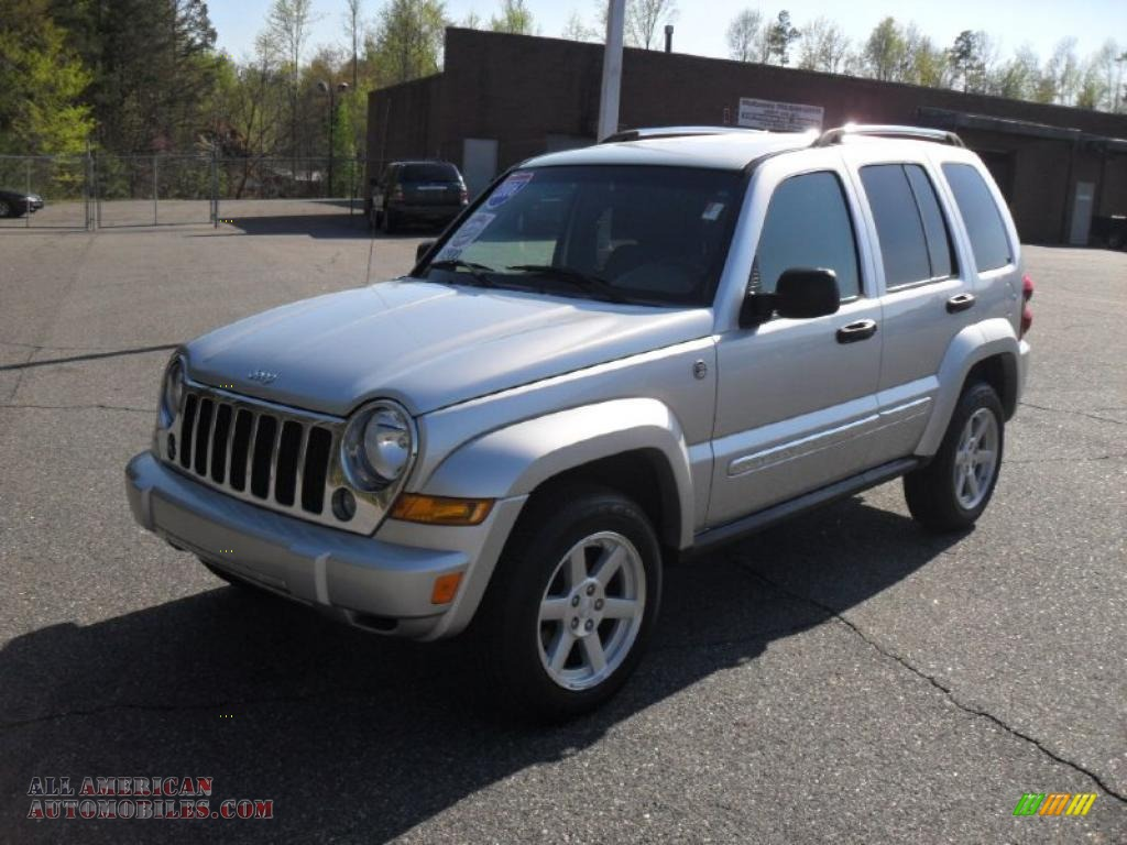 2007 Jeep Liberty Lift Kit 2006 Jeep Liberty Limited 4x4 in Bright Silver Metallic ...