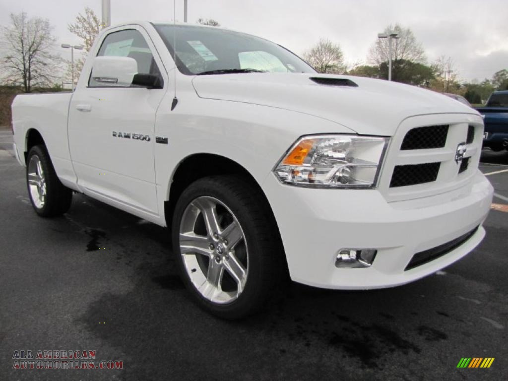 2011 dodge ram 1500 sport r t regular cab in bright white photo 4 586237 all american. Black Bedroom Furniture Sets. Home Design Ideas