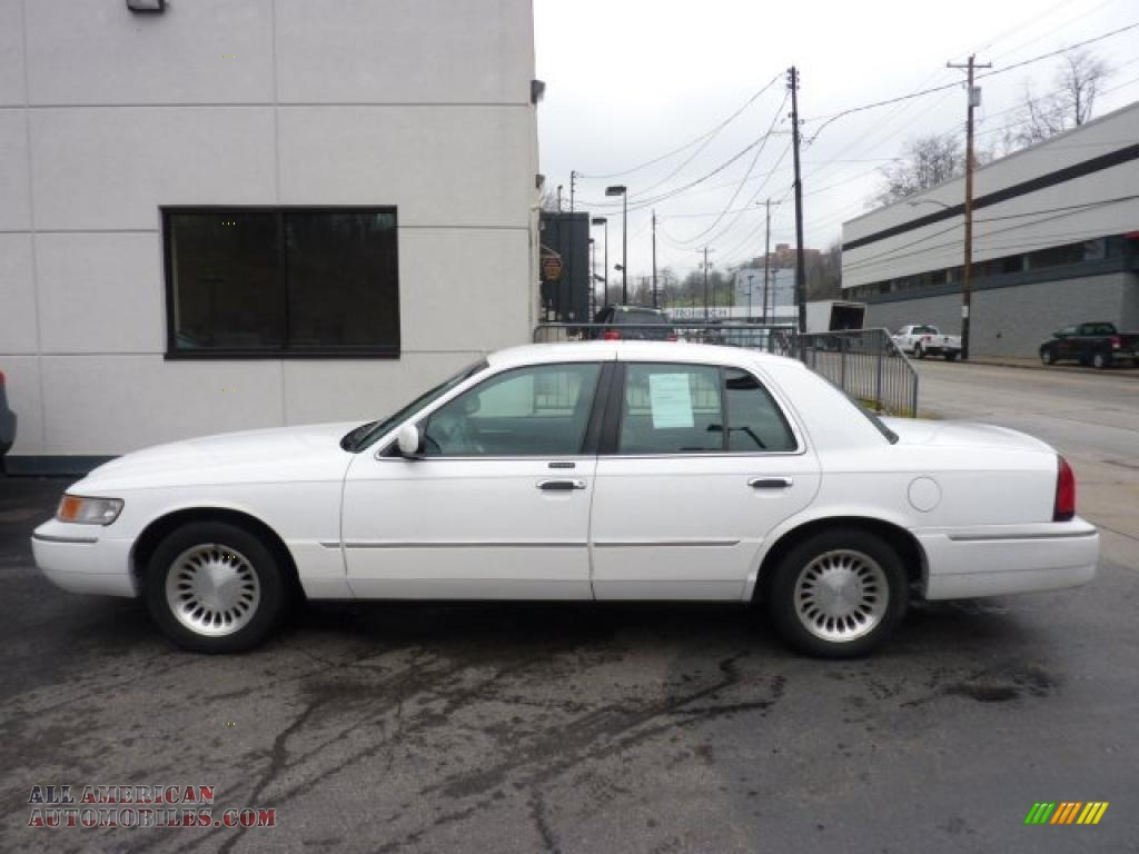2001 mercury grand marquis ls in vibrant white clearcoat 698954 all american automobiles. Black Bedroom Furniture Sets. Home Design Ideas