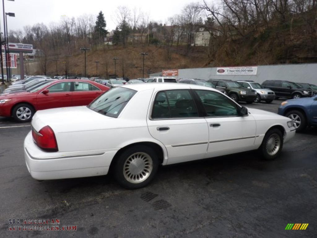 2001 mercury grand marquis ls in vibrant white clearcoat photo 5 698954 all american. Black Bedroom Furniture Sets. Home Design Ideas