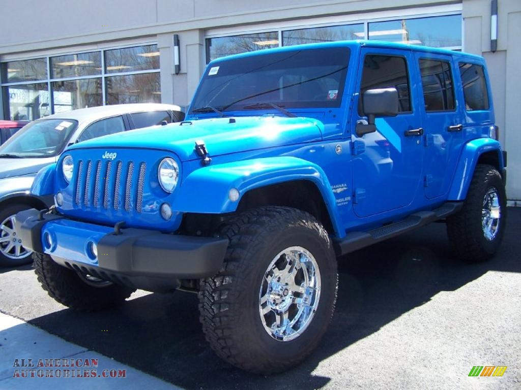 2011 Jeep Wrangler Unlimited Sahara 4x4 In Cosmos Blue